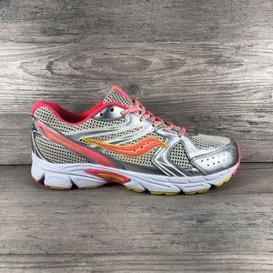 Girl's Saucony Cohesion 6 Running Sz 7M NO INSOLES